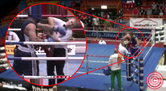 Video of Croatian Boxer Who Knocks Down a Referee After Losing the Fight