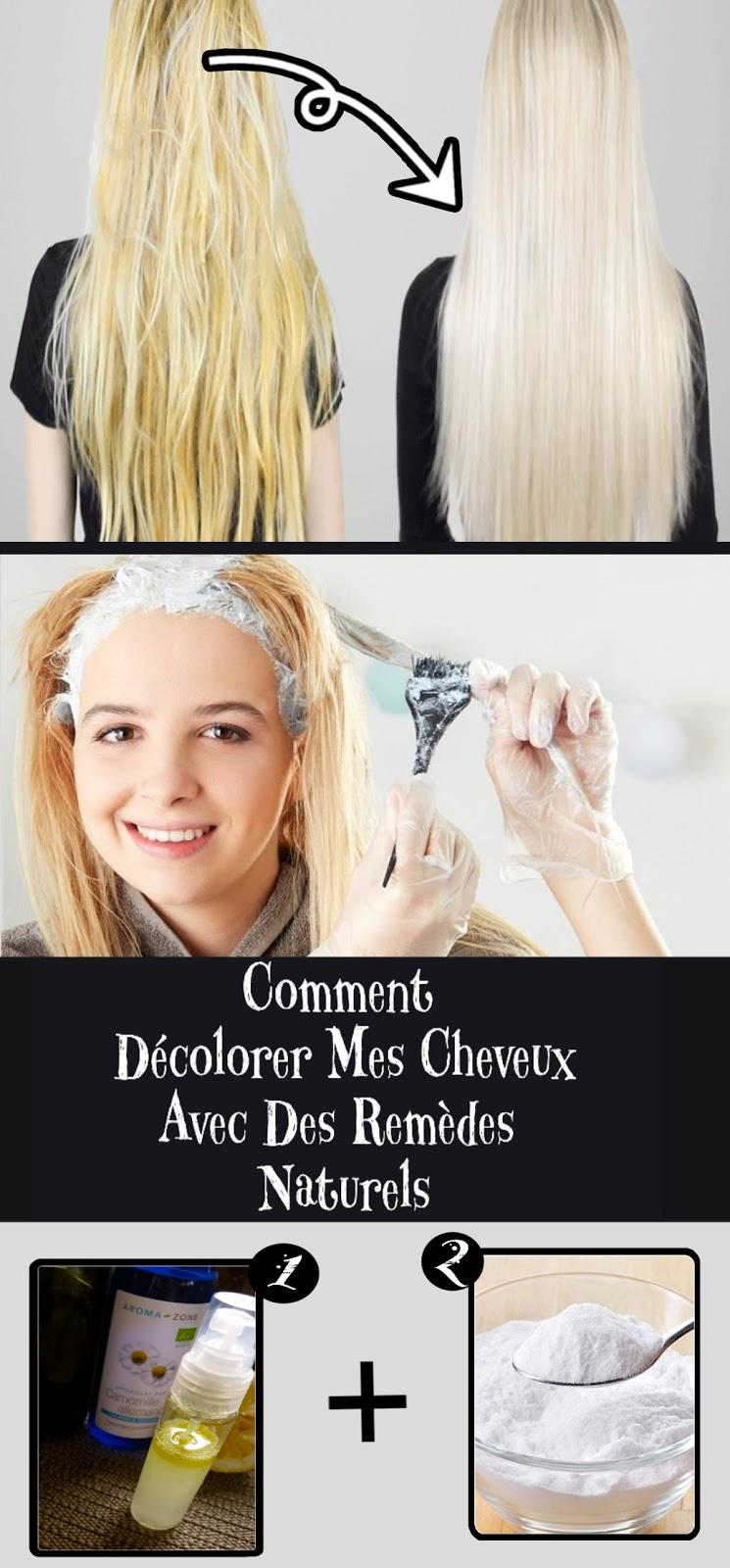 Comment Décolorer Mes Cheveux Avec Des Remèdes Naturels