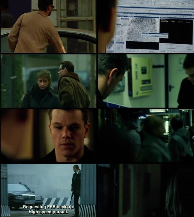 The Bourne Supremacy 2004 Dual Audio Hindi 720p BRRip