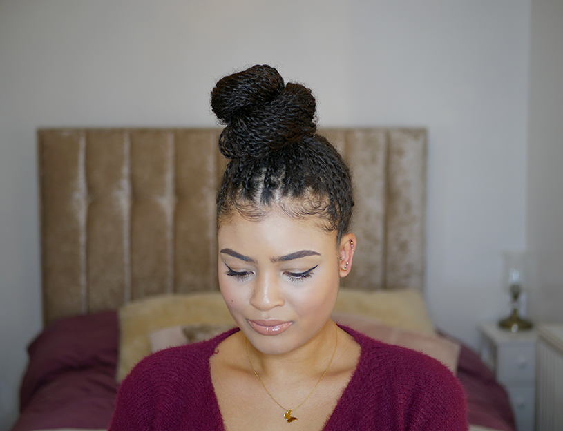 How To Do Mini Twists On Natural Hair Tutorial