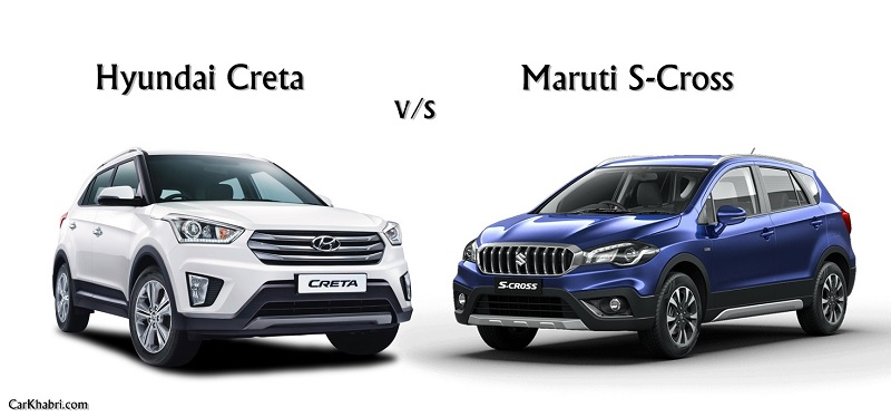 Compare Maruti S-Cross vs Hyundai Creta