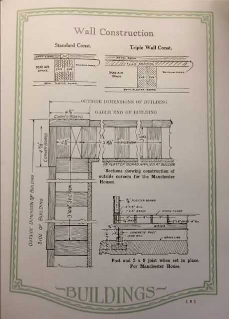 Wall construction explanation from Manchester Manufacturing Company's catalog