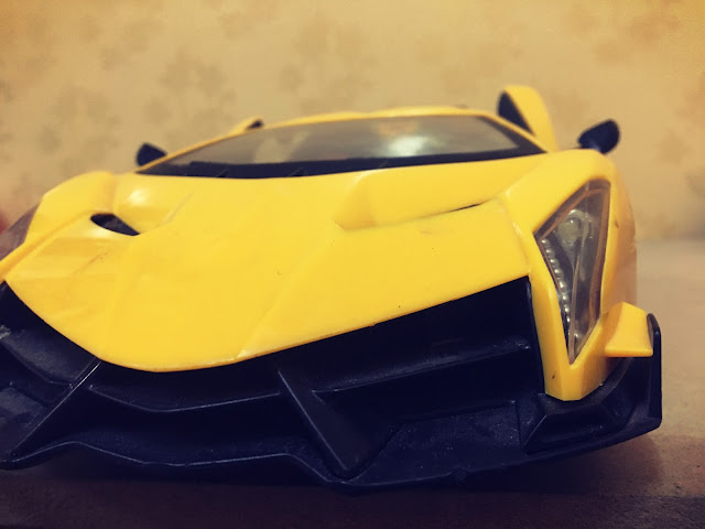 Funny moments with my RC Lamborghini car