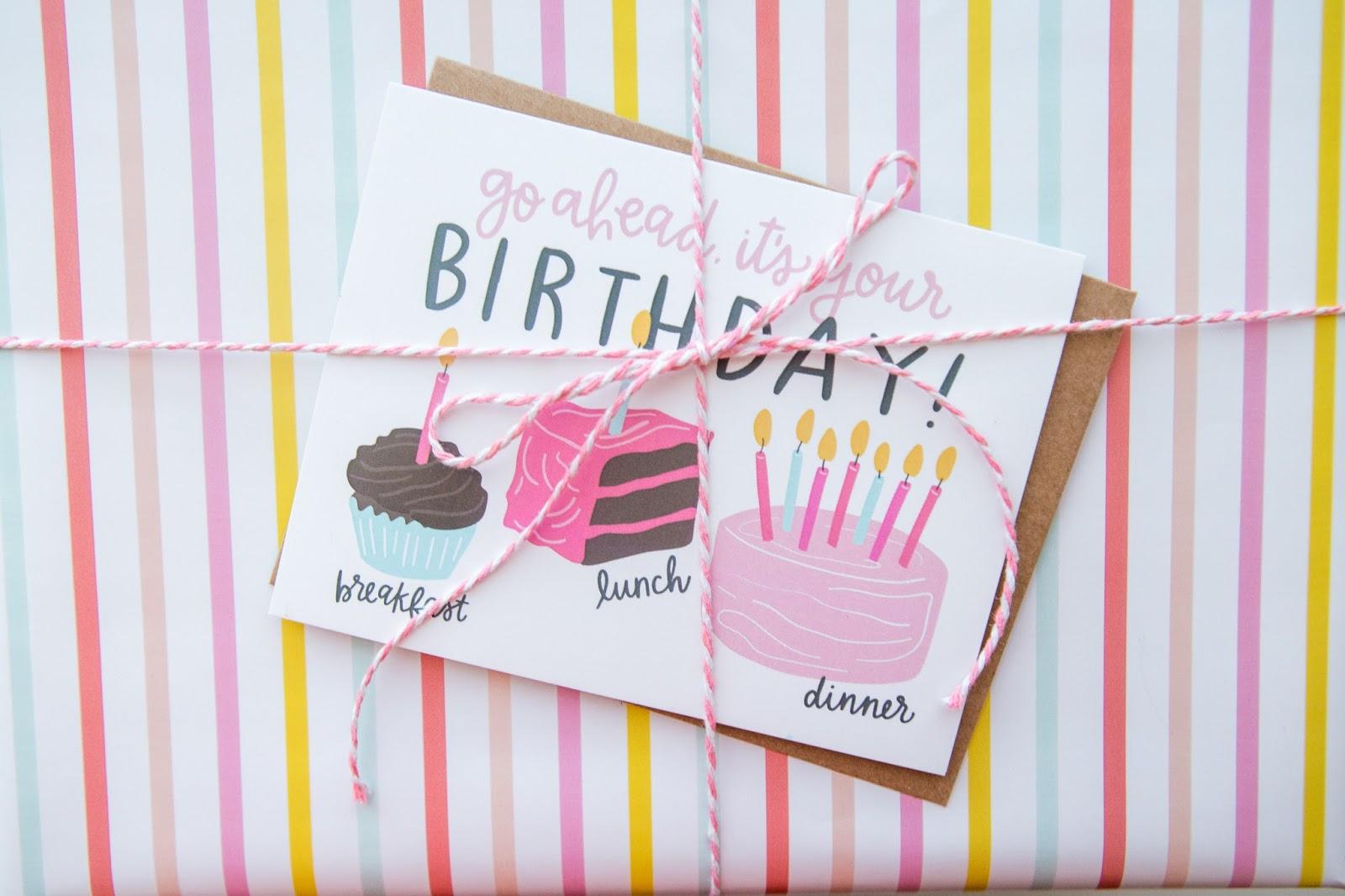 alexa z design birthday cake card