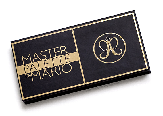 ABH Master Palette by Mario Eyeshadows Review Packaging