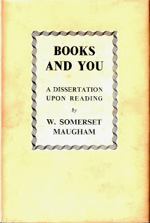 cover of Books and You, first edition, W. Somerset Maugham
