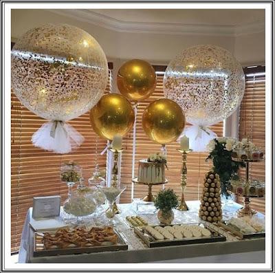 Ide Dekorasi Ulang Tahun Tema Minimalis, Elegan, Mewah Dengan Balon Orbz & Balon Bubble Deco