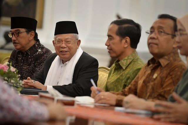 Tidak Ada Partai Setan, Ma'ruf Amin: Semua Parpol di Indonesia Religius