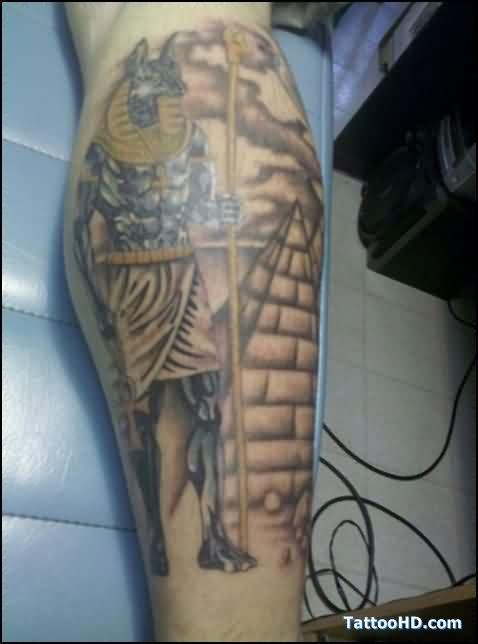 Fantastico Egipcio Tatuagem