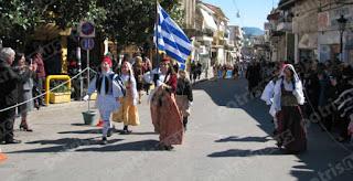 η μαθητική παρέλαση στην Κρέστενα – Γιορτινή ατμόσφαιρα σε Ζαχάρω και Καλλίκωμο