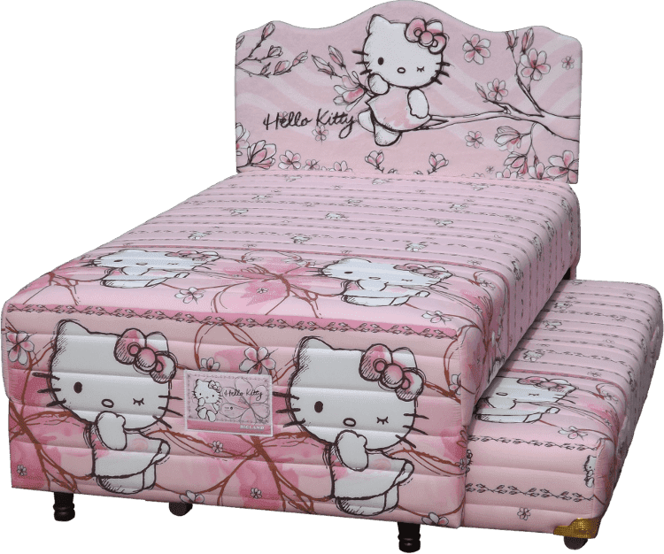 Harga Bigland 2in1 Hello Kitty Magnolia Twin Bed