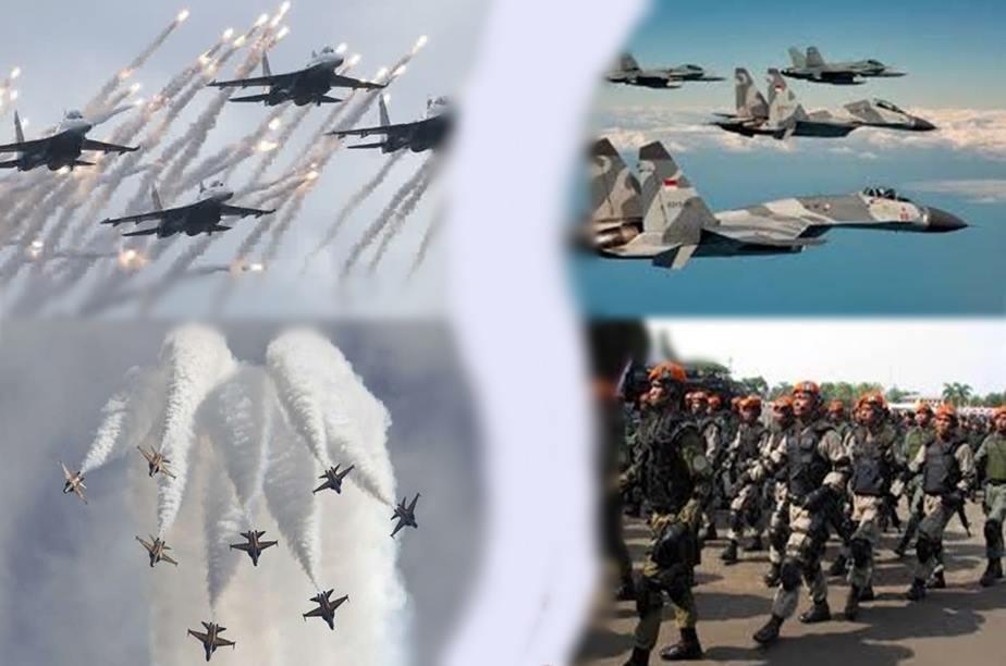 Gambar pesawat jet tempur TNI Au militer Indonesia