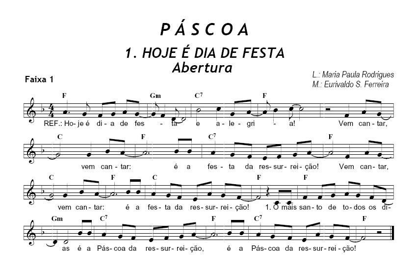 Hoje é Dia De Festa Amiga: Notícias Da Catequese: Música