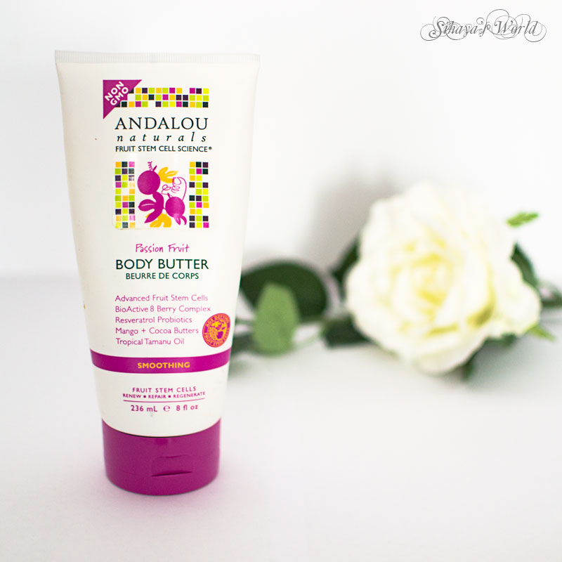 crema de corp andalou naturals body butter passion fruit