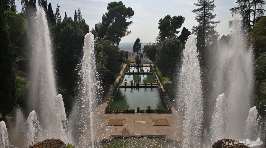 Vila d'Este, Tivoli, Roma, Itália