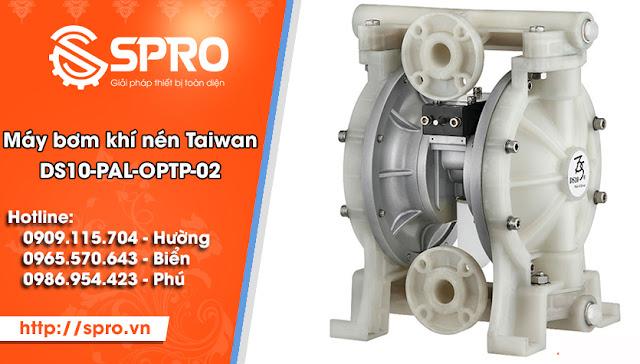 Máy bơm màng khí nén TAIWAN DS10-PAL-OPTP-02