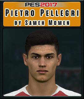 PES 2017 Faces Pietro Pellegri by Sameh Momen