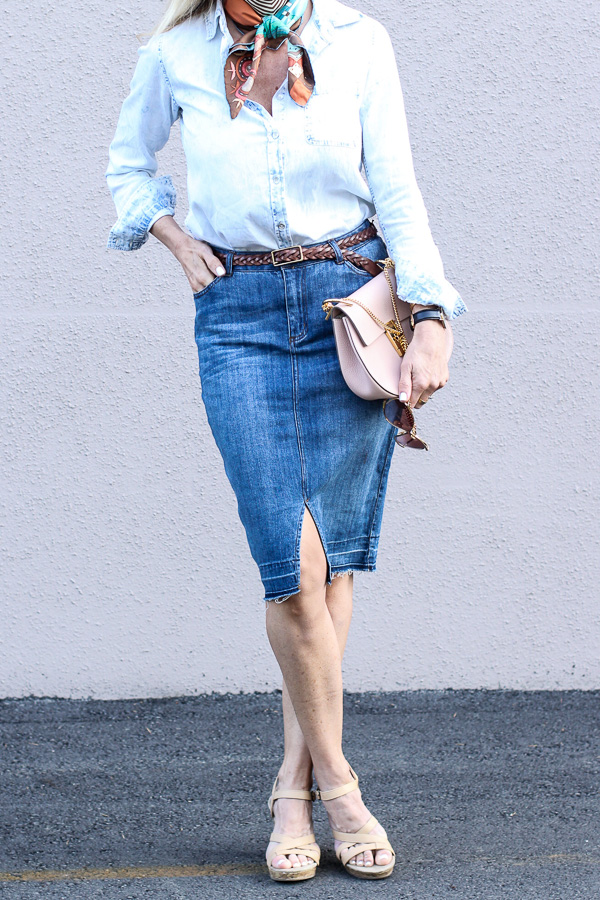 70s denim outfit style parlor girl