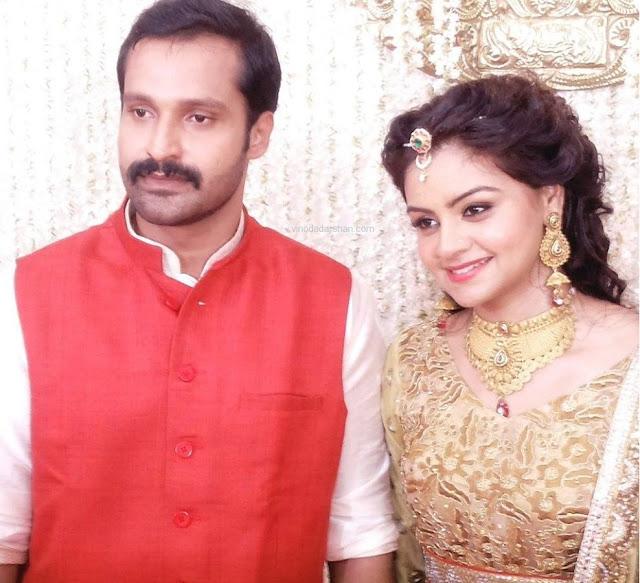 Actress Shilpa Bala to marry Vishu Gopal- Engagement Photos