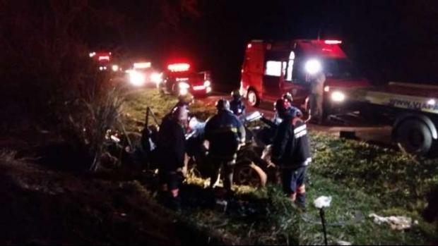 Polícia conclui inquérito do acidente com cinco mortes na BR-369, em Mamborê