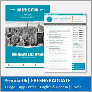 Contoh CV Fresh Graduate Jurusan Teknik Industri