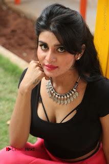 Telugu Actress Harini Stills at Dhyavudaa Movie Teaser Launch  0238.JPG