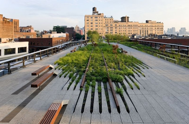 Parque High Line em Manhattan Nova York