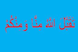 Dishare! Biar Banyak yang Tahu!!! Ucapan Idul Fithri yang Benar