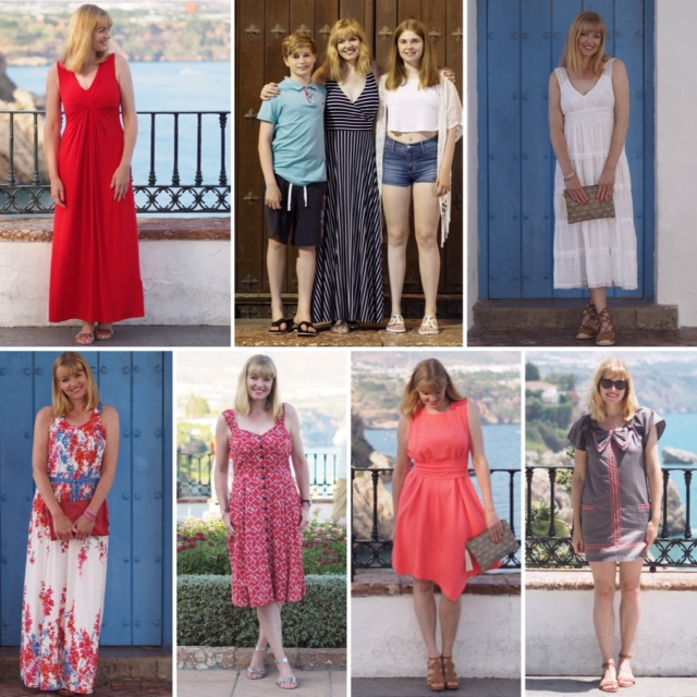 Holiday dresses for women over 40. Dresses for Nerja