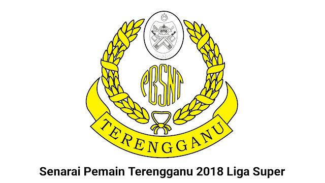 Senarai Pemain Terengganu 2018 Liga Super