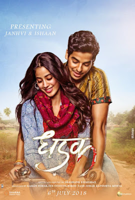 Dhadak 2018 Full Movie Download in 720p BluRay