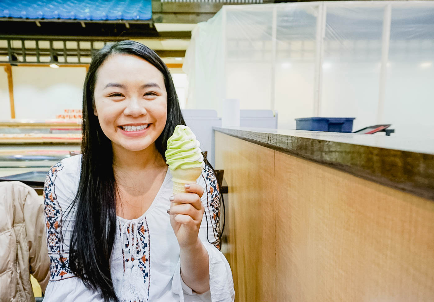 green tea ice cream in Chicago