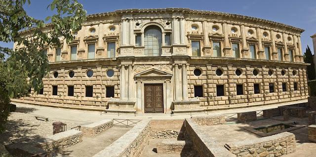 Palácio Carlos V em Granada