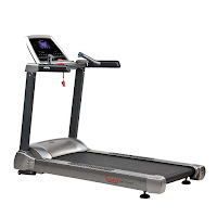 "Sunny Health & Fitness SF-T1415 Treadmill with 3.5 HP AC-Drive Motor, 15 built-in programs, 11 mph speed, 0-15% incline, 20"" x 55"" long running deck"