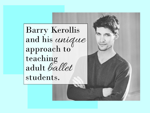 Barry Kerollis, a ballet teacher who prepares students of all ages for the stage