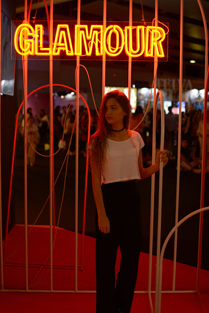 Sara Pericacho en la MBFW