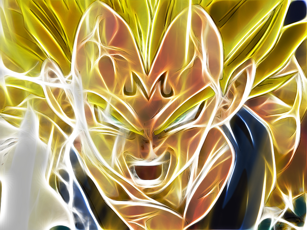 Dragon Ball Z Majin Vegeta Wallpaper