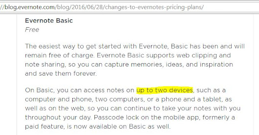 Anish Mandal Blog: Bye Bye Evernote