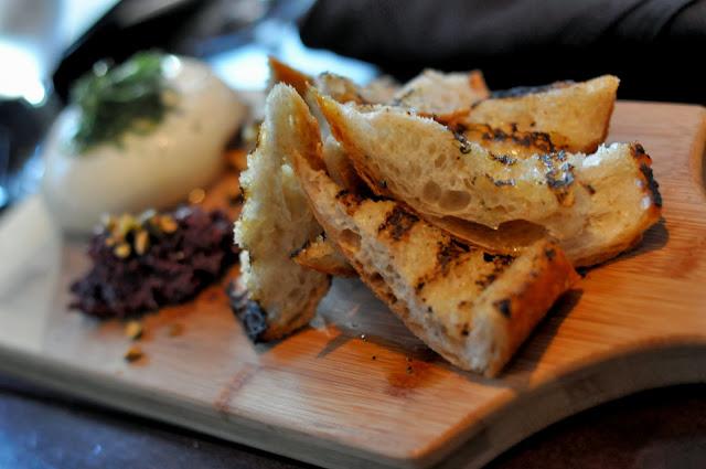 Housemade Burrata - Carpe Diem Wine Bar - Napa, CA | Taste As You Go