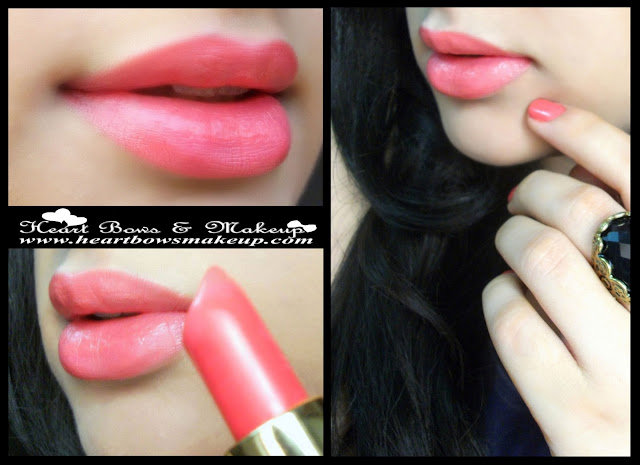 LOreal Color Riche Intense Lipstick Pink Passion Lip Swatches , LOTD & Review