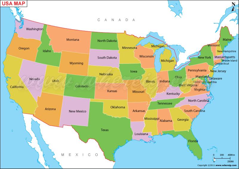 map search usa