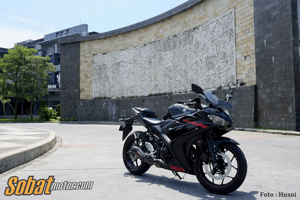 New Yamaha R25 Facelift 2018 sudah ditest jalan, sudah fix pakai suspensi depan USD sob !