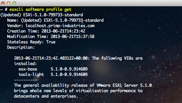 Quick Tip – Listing Image Profiles From an ESXi Patch Using