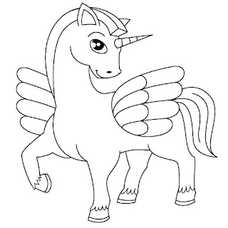Beauty Horse Coloring Pages For Print