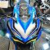 Honda CBR 250RR warna biru keren banget