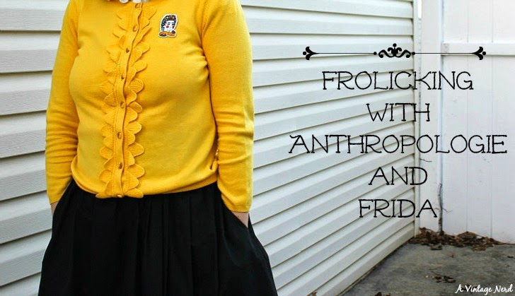 A Vintage Nerd, Vintage Blog, Anthropologie, Retro Fashion Blog, Retro Lifestyle Blog, Retro Fashion