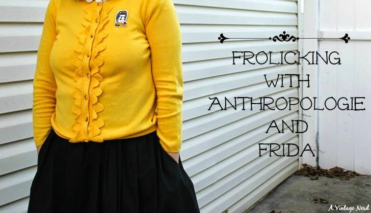 A Vintage Nerd, Vintage Blog, Anthropologie, Retro Fashion Blog, Retro Lifestyle Blog, Retro Fashion