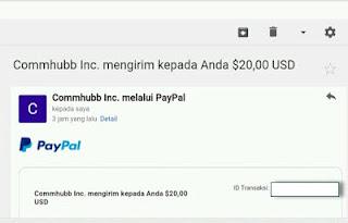 bukti pembayaran commhubb 3