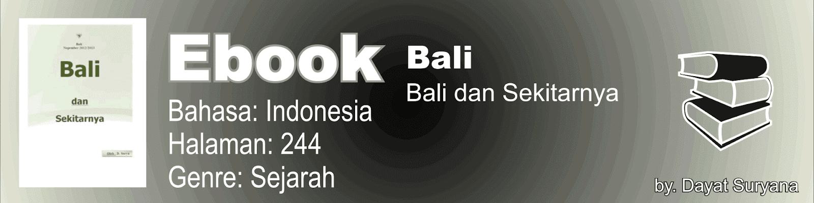 Buku Bali dan Sekitarnya