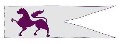 Recreación del emblema heráldico original del Reino de León
